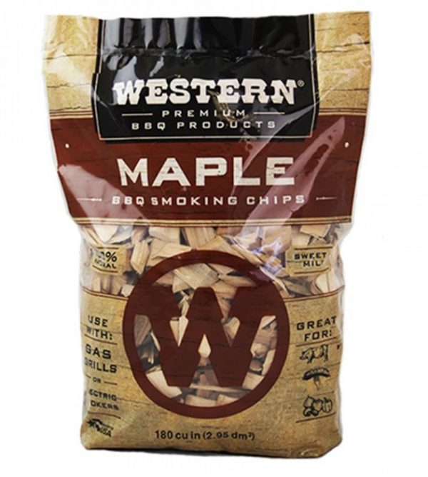 Western BBQ Maple Wood Chips